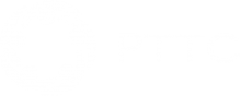 White cut out of the PTTC logo